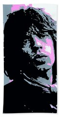 Mick Jagger In London Beach Towel