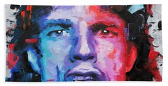 Mick Jagger Beach Towel
