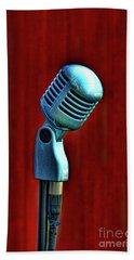 Microphone Beach Sheet