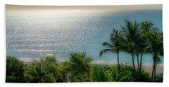 Mid-beach Miami-3 Beach Towel