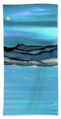 Midday Moon Beach Towel