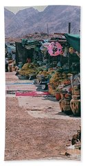 Middle-east Market Beach Towel