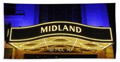 Midland Theater Beach Towel