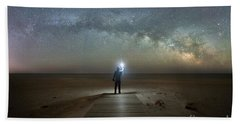 Midnight Explorer At Assateague Island Beach Towel