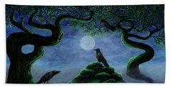 Midnight Green Beach Sheet