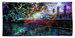 Midsummer Night At The Manor Beach Towel