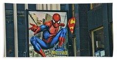 Midtown Comics - N Y C Beach Towel