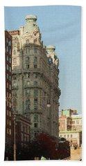 Midtown Manhattan Apartments Beach Towel