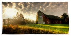 Midwest Morning Beach Towel by Joel Witmeyer