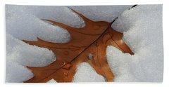 Mighty Oak Beach Sheet by Betty-Anne McDonald