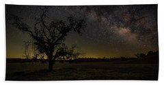 Miily Way In A Late Spring Sky Beach Towel