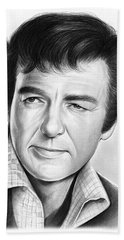 Mike Connors Beach Towel