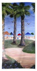 Mike's Hermosa Beach Beach Towel