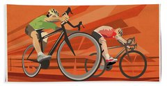 Milan San Remo Beach Towel by Sassan Filsoof