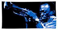 Miles Davis Beach Towel