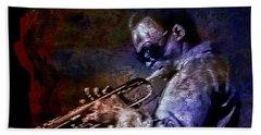 Miles Davis Jazz Legend 1969 Beach Sheet