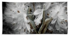 Milkweed Whisper Beach Towel