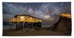 Milky Way Beach House Beach Sheet
