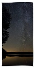 Milky Way Chocorua Lake Beach Towel
