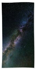 Beach Towel featuring the photograph Milky Way Core by Bryan Carter