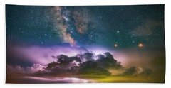 Milky Way Monsoon Beach Towel