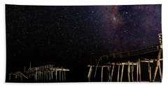 Milky Way Over Frisco Beach Towel