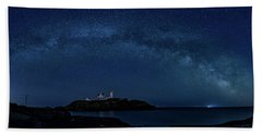 Milky Way Over Nubble Beach Sheet