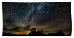 Milky Way Over The Blue Ridge Beach Towel