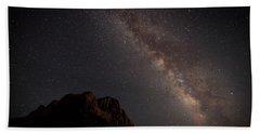 Milky Way Over Zion Beach Sheet