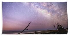 Milky Way Roots Beach Towel