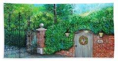George Michaels Mill Cottage Garden Beach Towel