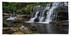 Mill Shoals Falls Beach Towel