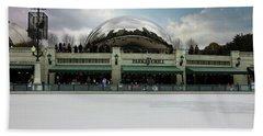 Millennium Park Ice Skating Rink Beach Towel