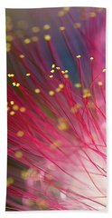 Mimosa Bloom Beach Towel by Dan Wells