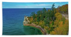 Miners Castle Beach Towel