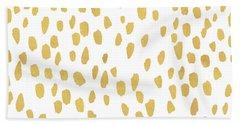 Minimalist Is Gold Beach Towel