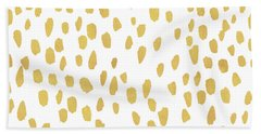 Minimalist Is Gold Beach Towel