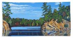 Mink Lake Gap Beach Towel