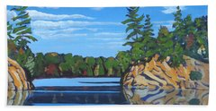 Mink Lake Gap Beach Towel