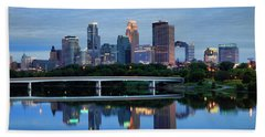 Minneapolis Reflections Beach Sheet