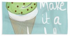 Mint Chip Beach Towel