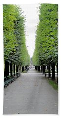Mirabell Garden Alley Beach Towel