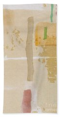 Beach Towel featuring the mixed media Mirage by Writermore Arts