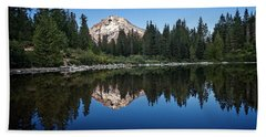 Mirror Lake Beach Towel