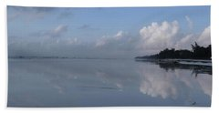 Mirror Ocean Water Beach Towel