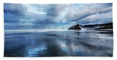 Beach Sheet featuring the photograph Mirror Of Light by Debra and Dave Vanderlaan