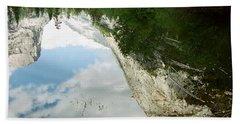Mirrored Beach Sheet