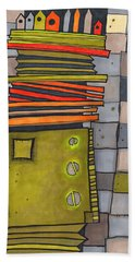 Misconstrued Housing Beach Towel by Sandra Church