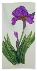 Miss Iris Beach Towel