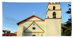 Mission San Buenaventura, Ventura, California Beach Towel